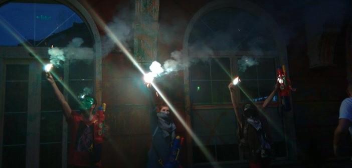 Осма недела Шарена револуција: Боја за Влада, Собрание, Народната канцеларија
