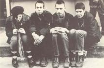 Бери (втор оддесно) на почетоците на бендот