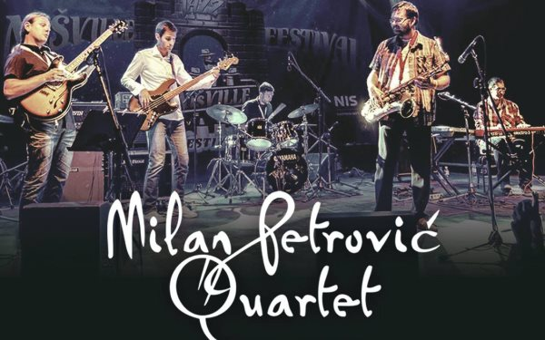 Џез концерт на светски познатиот  Милан Петровиќ квартет  во Јавна соба