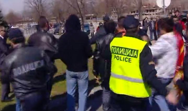 Видео  Осум години од нападот врз студентите на плоштадот  Македонија
