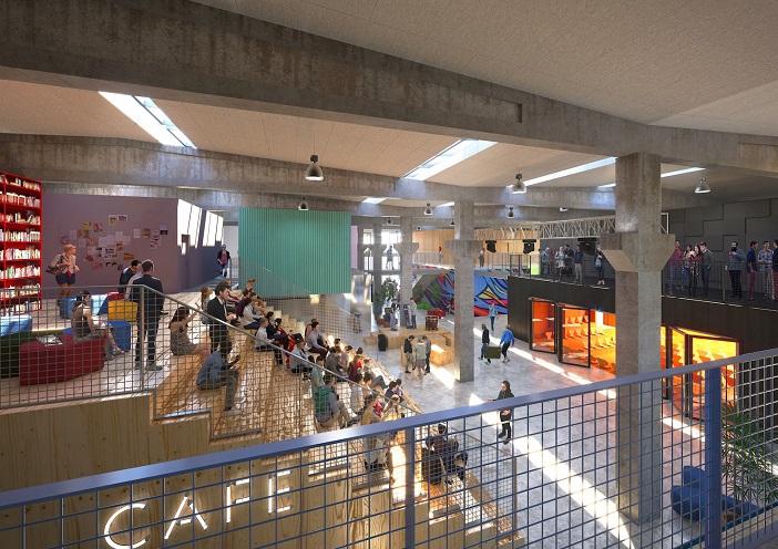 Поранешна фабрика во Копенхаген ќе стане алтернативно средно училиште без наставна програма
