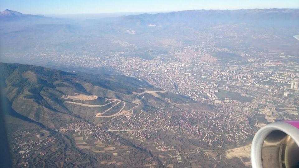 """Водно и Скопје од """"птичја перспектива"""""""