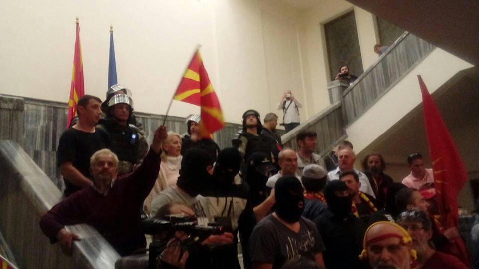 Анкета на Телма и МЦМС  40 5 отсто сметаат дека ВМРО ДПМНЕ е организатор на упадот во Собранието