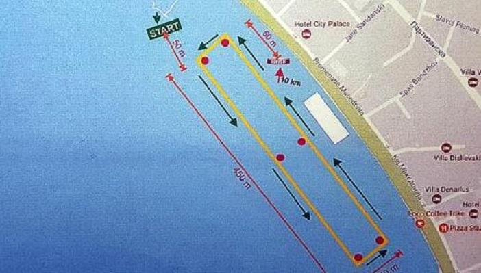 Десеткилометарски маратон прв пат на Охридско Езеро