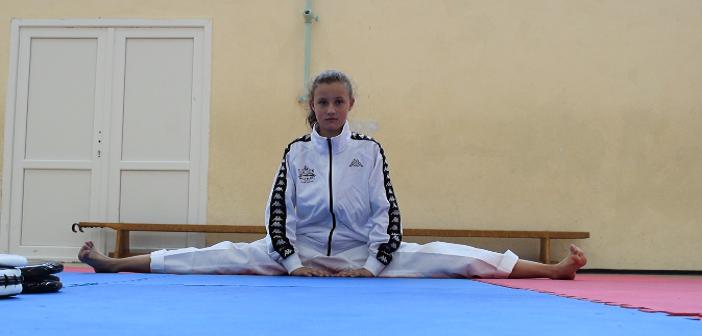 [Видео] Дебора – младиот балкански шампион во таеквондо