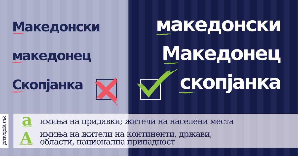 Правописот на македонскиот јазик конечно е онлајн достапен