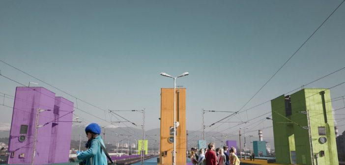 [Фото] Студентски проект за ревитализација на железничката станица во Скопје