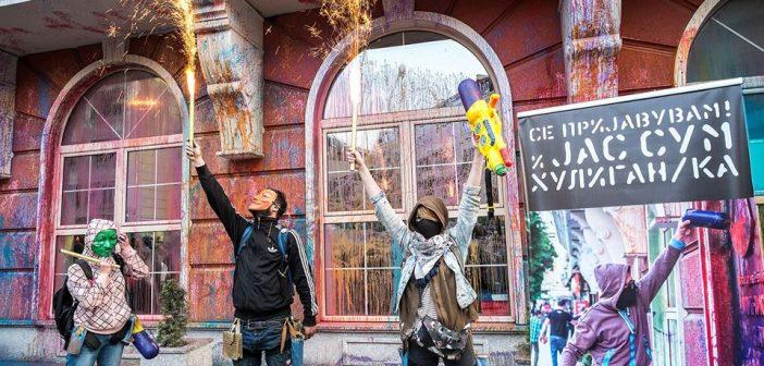 [Подкаст] Мегафон: Три години по Шарена револуција – Некој со казни, други на функции
