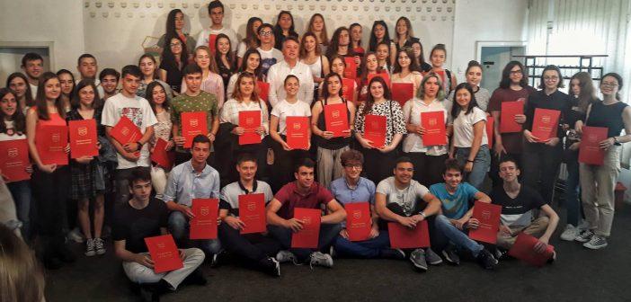 Награди за најуспешните скопски средношколци на регионалните натпревари
