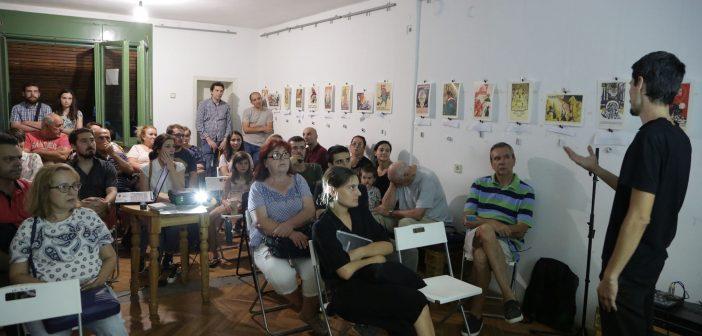 """Димитар Самарџиев, """"Зелената арка"""": Со заедничката градина си го враќаме јавниот простор"""